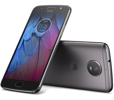 "Motorola Moto G5s Dual SIM/5,2"" IPS/1920x1080/Octa-Core/1,4GHz/3GB/32GB/16Mpx/LTE/Android 7.1.1/Lunar Grey (PA7W0001CZ)"