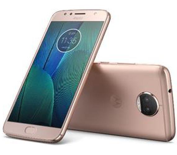 "Motorola Moto G5s Plus Dual SIM/5,5"" IPS/1920x1080/Octa-Core/2,0GHz/4GB/32GB/13Mpx/LTE/Android 7.1.1/Blush Gold (PA6V0099CZ)"