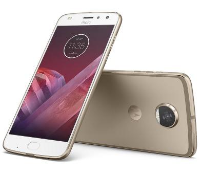 "Motorola Moto Z2 Play Dual SIM/5,5"" AMOLED/1920x1080/Octa-Core/2,2GHz/4GB/64GB/12Mpx/LTE/Android 7.1.1/Fine Gold + DOPRAVA ZDARMA"