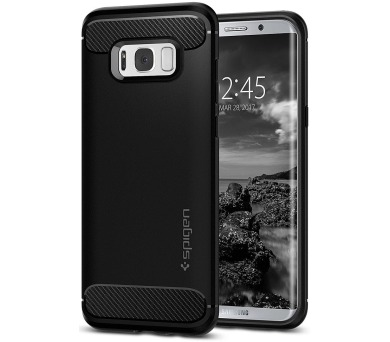 SPIGEN Rugged Armor PRO SAMSUNG GALAXY S8 - BLACK
