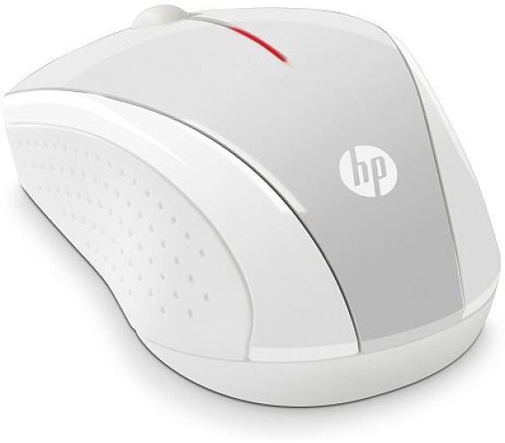 HP myš x3000 bezdrátová zlatá stříbrná
