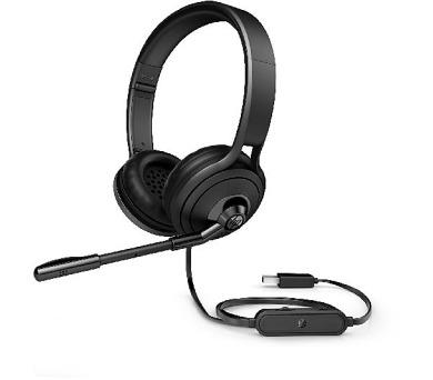 HP Pavilion USB Headset 500 černá + DOPRAVA ZDARMA
