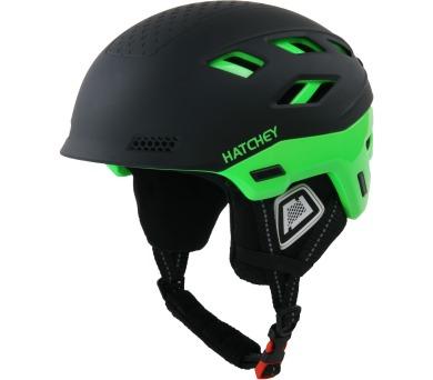 Lyžařská helma Desire Green Hatchey