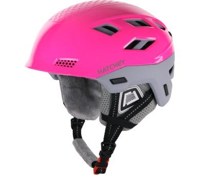 Lyžařská helma Desire Pink Hatchey