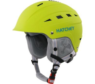 Lyžařská helma Vitall Kids Green Hatchey