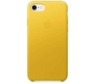 Apple Leather Case pro iPhone 7 - Sunflower