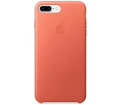 Apple Leather Case pro iPhone 7 Plus - Geranium + DOPRAVA ZDARMA