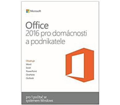 PROMO_2PK OFFICE 2016 HOME AND BUSINESS CZ (PRO PODNIKATELE)