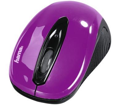 HAMA myš AM-7300/ bezdrátová/ optická/ 1000 dpi/ 3 tlačítka/ USB/ ostružinová