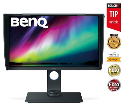 "BENQ 27"" LED SW271/ 3840x2160/ LBL/ FF/ IPS panel/ 20M:1/ 5ms/ HDMI/ DP/ USB/ černý (9H.LGLLB.QBE)"