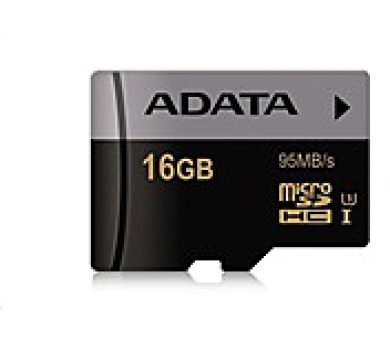ADATA Micro SDHC karta Premier Pro 16GB UHS-I U3
