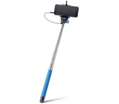 FOREVER MP-400 selfie tyčka s ovládacím tlačítkem - modrá