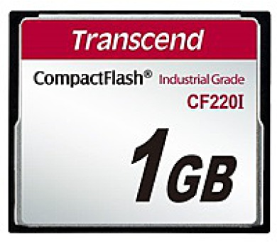 TRANSCEND Industrial Compact Flash Card CF220I 1GB
