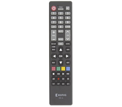 KÖNIG předprogramovaný dálkový ovladač kompatibilní se všemi televizory LG