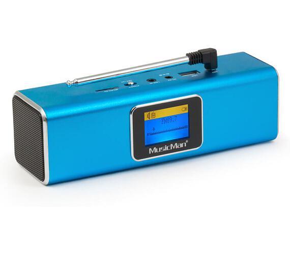 Technaxx přenosné Bluetooth rádio a reproduktor MusicMan + DOPRAVA ZDARMA