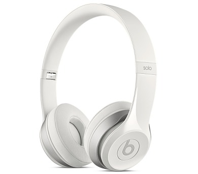 Beats Solo2 On-Ear Headphones - White + DOPRAVA ZDARMA