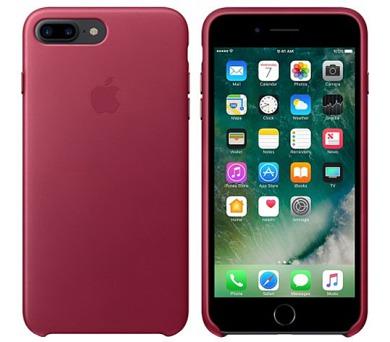 iPhone 7 Plus Leather Case - Berry (MPVU2ZM/A)