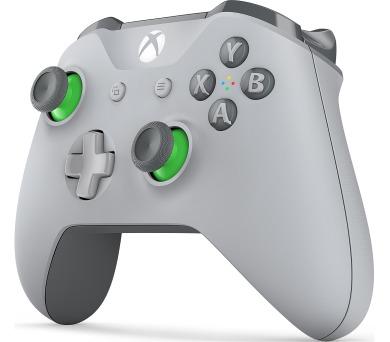 XBOX ONE - Bezdrátový ovladač Xbox One S šedozelený [Shandon]