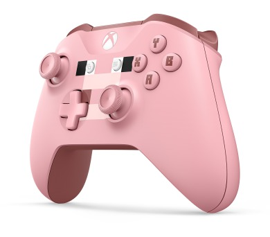 XBOX ONE - Bezdrátový ovladač Xbox One Minecraft Pig (WL3-00053)