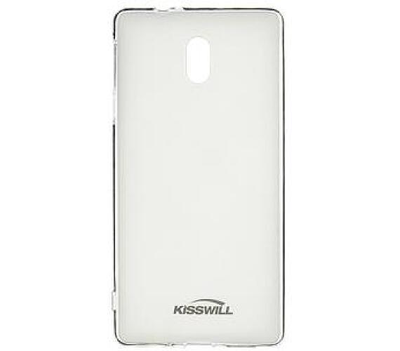 Kisswill TPU Pouzdro Transparent pro Nokia 3