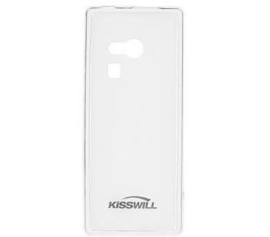 Kisswill TPU Pouzdro Transparent pro Nokia 216