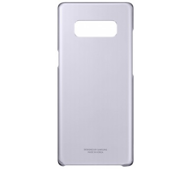Samsung Clear Cover pro NOTE 8 Orchid Gray