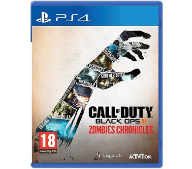 PS4 - Call of Duty Back Ops III Zombies Chronicles + DOPRAVA ZDARMA