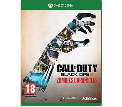 XONE -Call of Duty Back Ops III Zombies Chronicles + DOPRAVA ZDARMA
