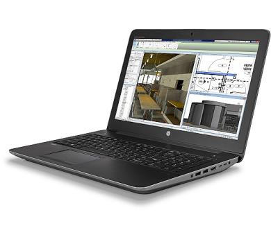 HP Zbook 15 G4 i7-7700HQ / 2x8GB DDR4 / 256GB G2 M.2 NVME TLC/ 15,6'' FHD / Quadro M1200 4GB / Win 10 Pro (1RQ74EA#BCM)
