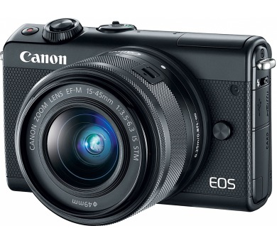 Canon EOS M100 Black + EF-M 15-45mm f/3.5-6.3 IS STM LTD Edition SELEKCE