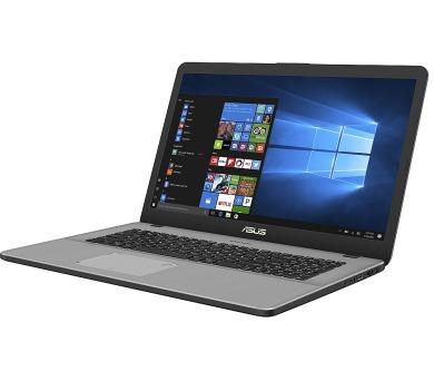 """ASUS F705NC-BX014T Celeron N3350/4G/1T 5400 ot./GeForce 810M/17,3"""" TN/HD+/W10/Grey + DOPRAVA ZDARMA"""