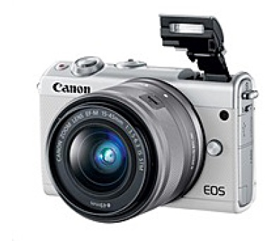 Canon EOS M100 White + EF-M 15-45mm f/3.5-6.3 IS STM LTD Edition