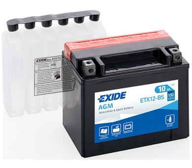 Exide 12V 10Ah ETX12-BS