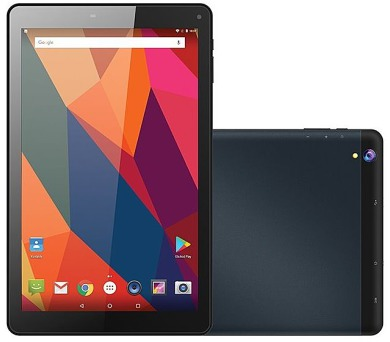"UMAX tablet PC VisionBook 10Q LTE/ 10,1"" IPS/ 1280x800/ 1GB/ 16GB Flash/ GPS/ micro USB/ Android 7.0/ tmavě šedý"