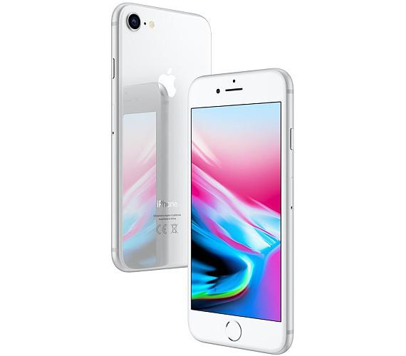 "Apple iPhone 8 256GB Silver 4,7"" Retina/ LTE/ Wifi AC/ NFC/ IP67/ iOS 11"