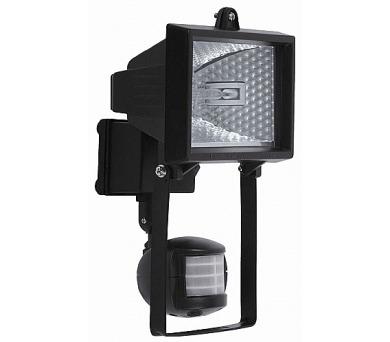 Halogenový reflektor s čidlem ECOLITE R6304-CR 150W černý