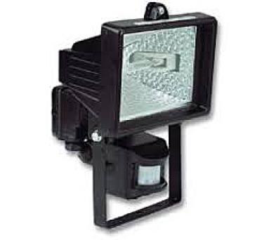 Halogenový reflektor s čidlem ECOLITE R6405-CR 500W černý