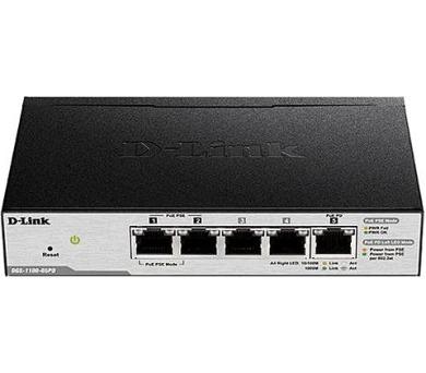 D-Link DGS-1100-05PD 5-Port Gigabit PoE Smart Switch