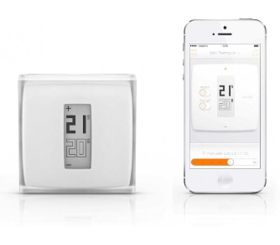 Netatmo Thermostat Wi-Fi termostat pro iOS/Android zařízení + DOPRAVA ZDARMA
