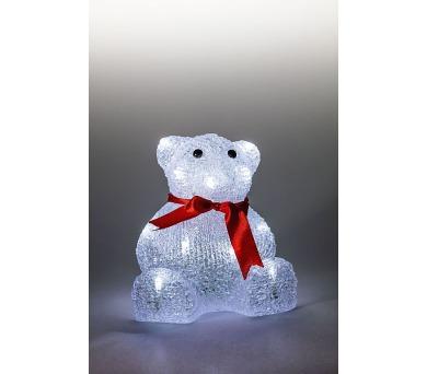 Medvěd svítící LED dekorace