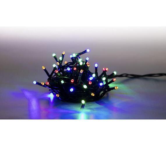 Řetěz světelný 400 LED 20 m - barevná - 8 funkcí (18000077)
