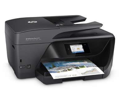 HP OfficeJet Pro 6970/ A4/ 20/11ppm/ print+scan+copy+fax/ 1200x600/ PCL/ LCD touch/ USB/ LAN/ Wi-Fi/ duplex/ ADF/ Černá