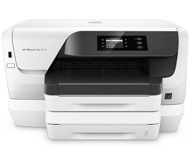 HP OfficeJet Pro 8218/ A4/ 20/16ppm/ 2400x1200/ PCL/ USB/ LAN/ Wi-Fi/ duplex/ Bílá + DOPRAVA ZDARMA