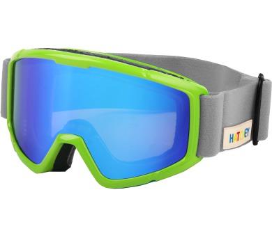 Juniorské lyžařské brýle Rigger green Hatchey