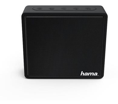HAMA mobilní reproduktor Pocket/ 3W/ BlueTooth/ Micro SD/ 3,5 mm jack/ černý (173120)