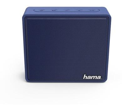 HAMA mobilní reproduktor Pocket/ 3W/ BlueTooth/ Micro SD/ 3,5 mm jack/ modrý