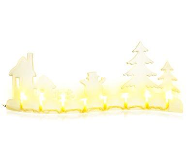 Vánoční osvětlení Relux RXL 280 krajina dům 8LED WW TM