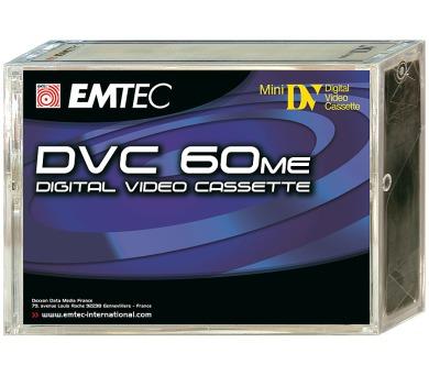 DVC 60ME mini DV kazeta 5pack Emtec