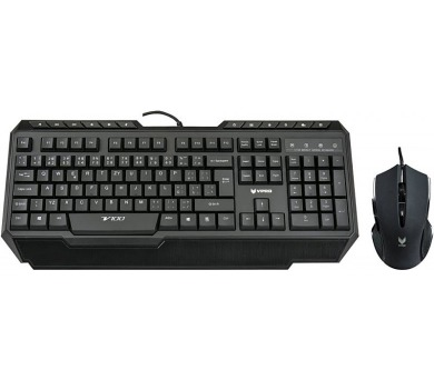 RAPOO V100 Backlit Gaming Keyboard Combo