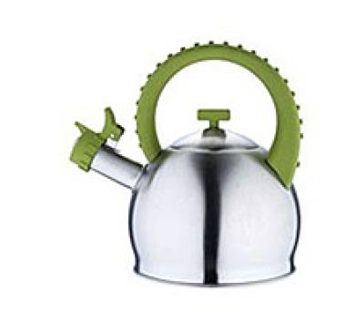 BERGNER Konvice pískací nerez 2,8 l olivová